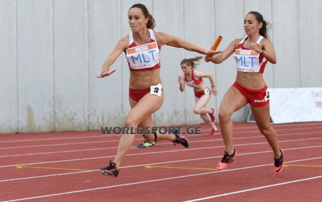 ETCh 2014 - Photos - Baton Change 4x100W