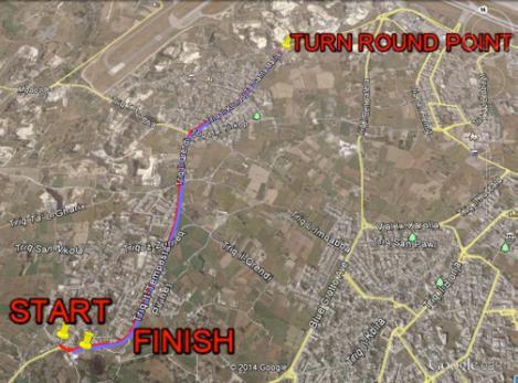 Maqluba 5K Map