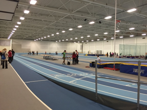 Indoor Track in Rejkjavik