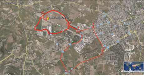Ta Qali 10K MAP