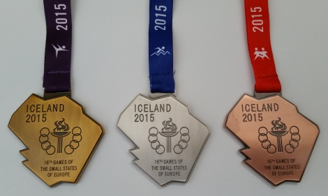 Medals Iceland 2015