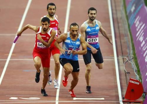 4x400m Men