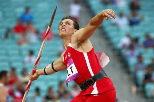 Bradley Mifsud Javelin