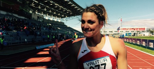 Charlotte in 200mFinal