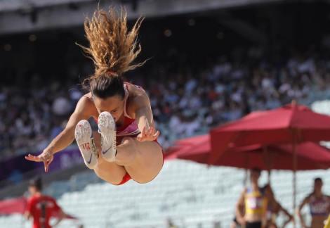 Rebecca Camilleri Long Jump 3