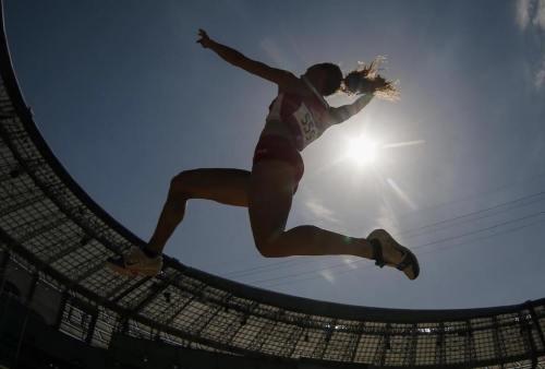 Rebecca Camilleri Long Jump