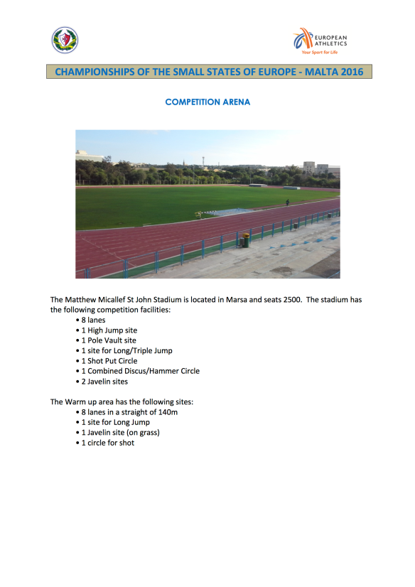 4. COMPETITION ARENA