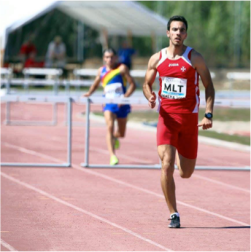 Daniel Saliba set new 110mh NR in 2019 ETCH League